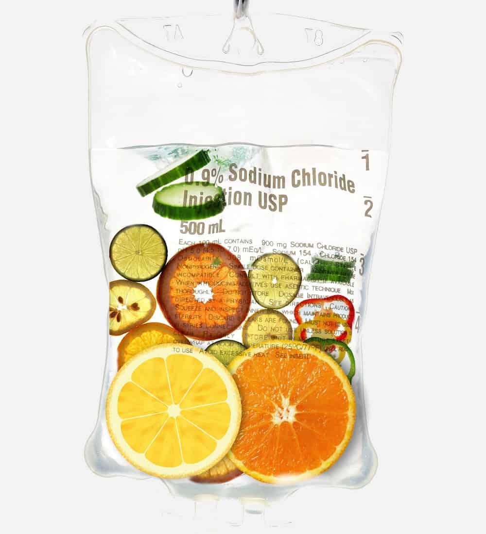 Image of IV Vitamin Bag