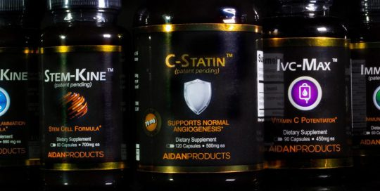 Image of Aidan Products Bottles