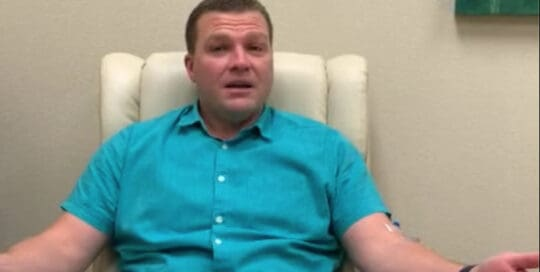 Image of Torn Arm Tendon Patient